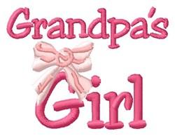 Grandpas Girl embroidery design