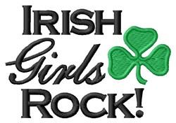 Irish Girls Rock embroidery design