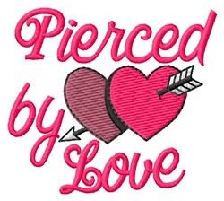 Love Pierced embroidery design