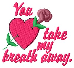 Breath Away embroidery design