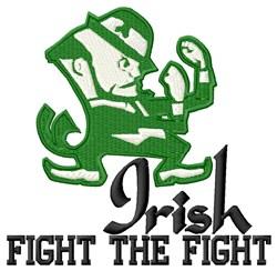 Fight Irish embroidery design