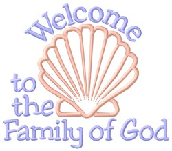 Family of God embroidery design