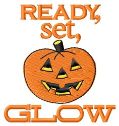 Ready Set Glow embroidery design