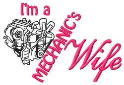 Mechanics Wife embroidery design