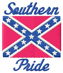 Southern Pride embroidery design
