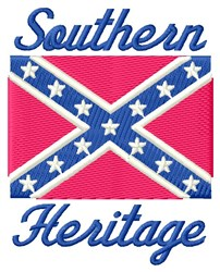 Southern Heritage embroidery design