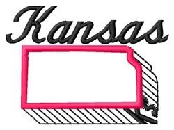 Kansas embroidery design