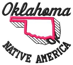 Native America embroidery design