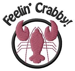 Feelin Crabby embroidery design