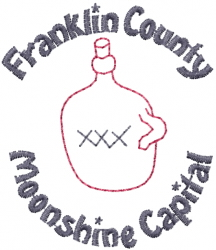 Franklin County embroidery design