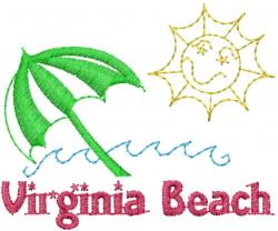 Virginia Beach embroidery design