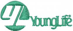 Young Life embroidery design