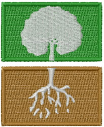 Tree Perspective embroidery design