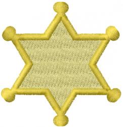 Jewish Police embroidery design