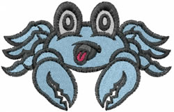Baby Crab embroidery design