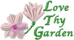 Love Thy Garden embroidery design