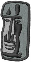 Rock Head embroidery design