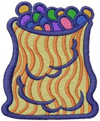 Candy Bag embroidery design