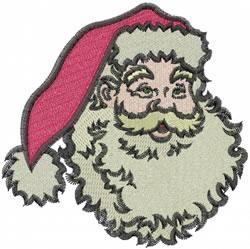 Santas Face embroidery design