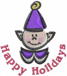 Happy Elf embroidery design