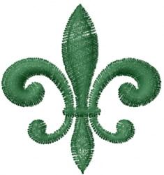 Fleur De Lys embroidery design