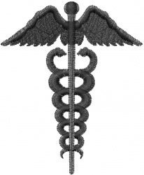 Medical Staff embroidery design