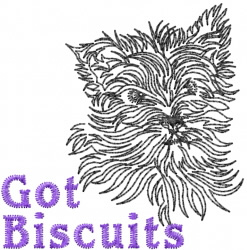 Got Biscuits? embroidery design