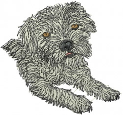 Border Terrier Embroidery Designs Machine Embroidery