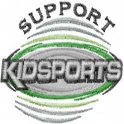 Support Kidsports embroidery design