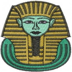 King Tut embroidery design