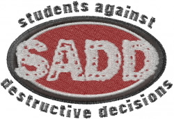 SADD embroidery design