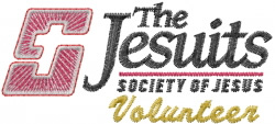 Jesuits Volunteer embroidery design