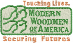 Modern Woodmen Futures embroidery design