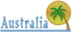 Australia Sun Rise embroidery design
