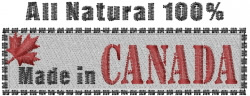 Canada Made embroidery design