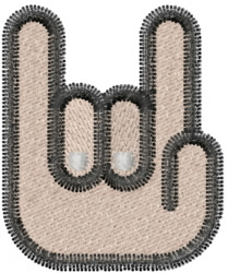 Howzit Hand embroidery design