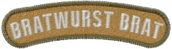 Bratwurst Brat embroidery design