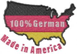 German American embroidery design