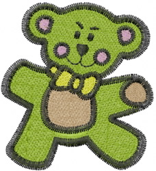 Lill Bear embroidery design