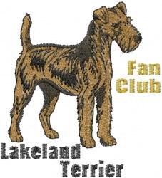 Lakeland Terrier Club embroidery design
