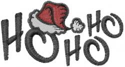Hat Ho Ho Hat embroidery design