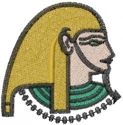 Egyptian God embroidery design
