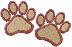 Paws and Claws embroidery design