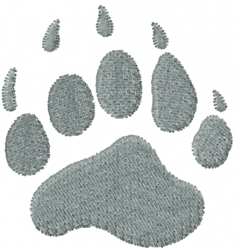 Paws & Claws embroidery design