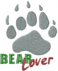 Bear Paws embroidery design