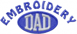 Embroidery Dad embroidery design