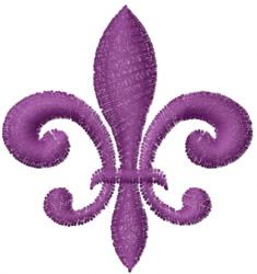 Fleur de Lis embroidery design
