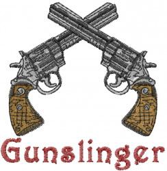 The Gunslinger Embroidery Designs