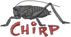 Cricket Mormon Love embroidery design