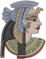 Egyptian Princess embroidery design